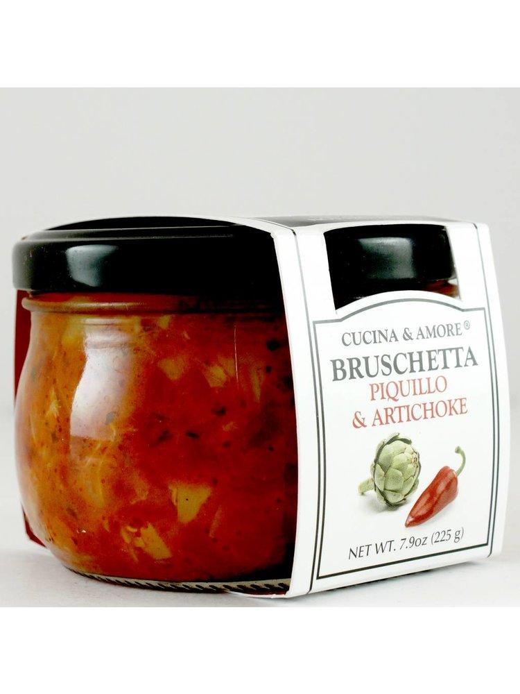 Cucina & Amore Piquillo and Artichoke Bruschetta, 7.9 oz, San Francisco
