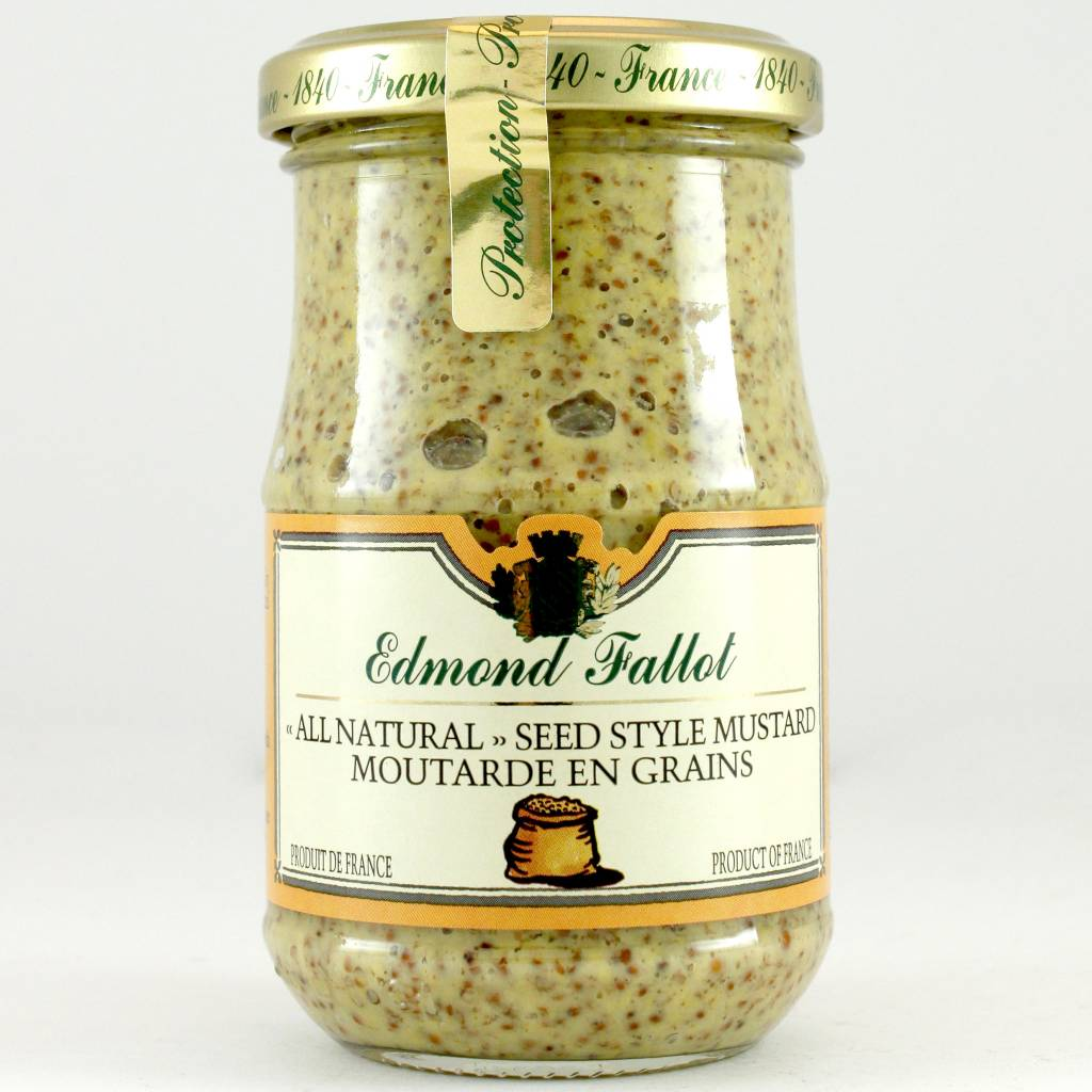 Edmond Fallot Seed Style Mustard Moutarde en Grains