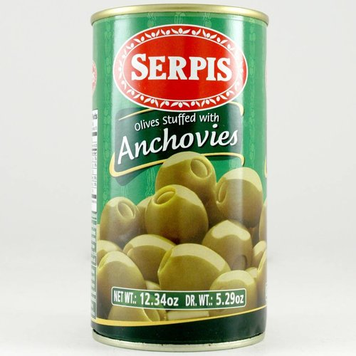 El Serpis Anchovy Stuffed Olives, Spain