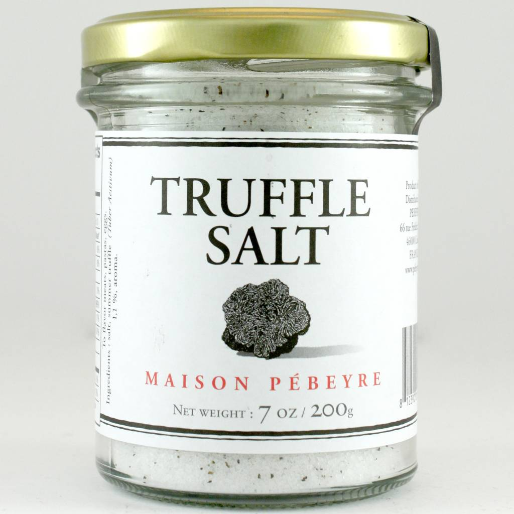Pebeyre Summer Truffle Salt, Perigord, France