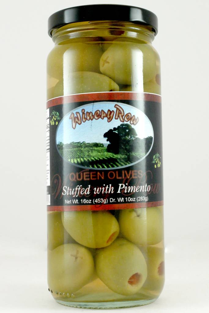 Winery Row Queen Olives with Pimento, Spain