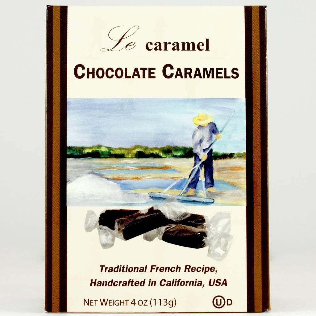 Le Caramel Chocolate Caramels, San Diego 4 ounce