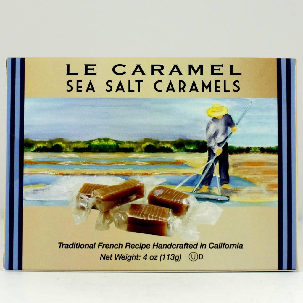 Le Caramel Sea Salt Caramels, San Diego