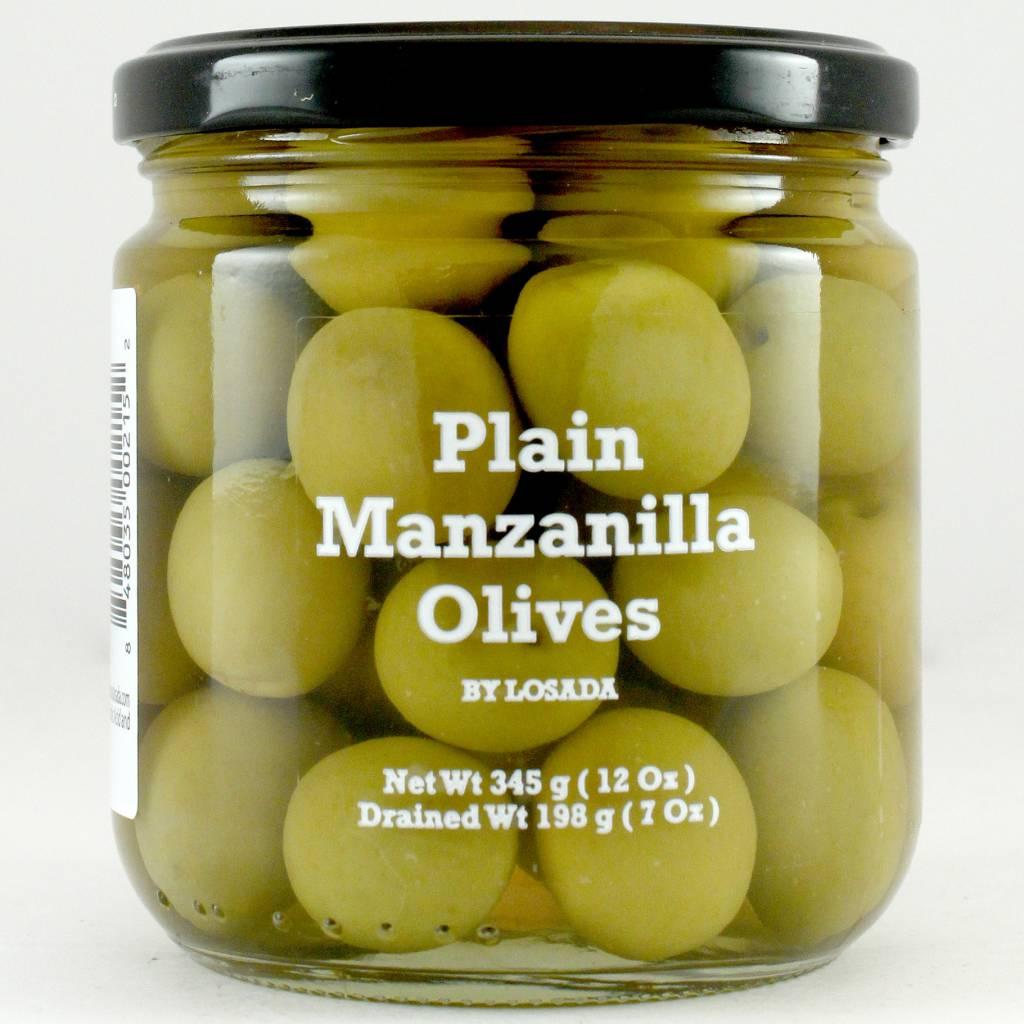 Losada Plain Manzanilla Olives 12oz.