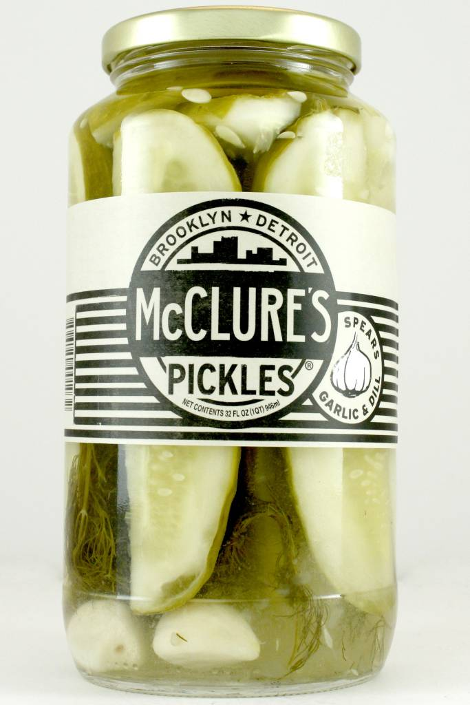 McClure's Pickle Spears Garlic and Dill, 32 oz