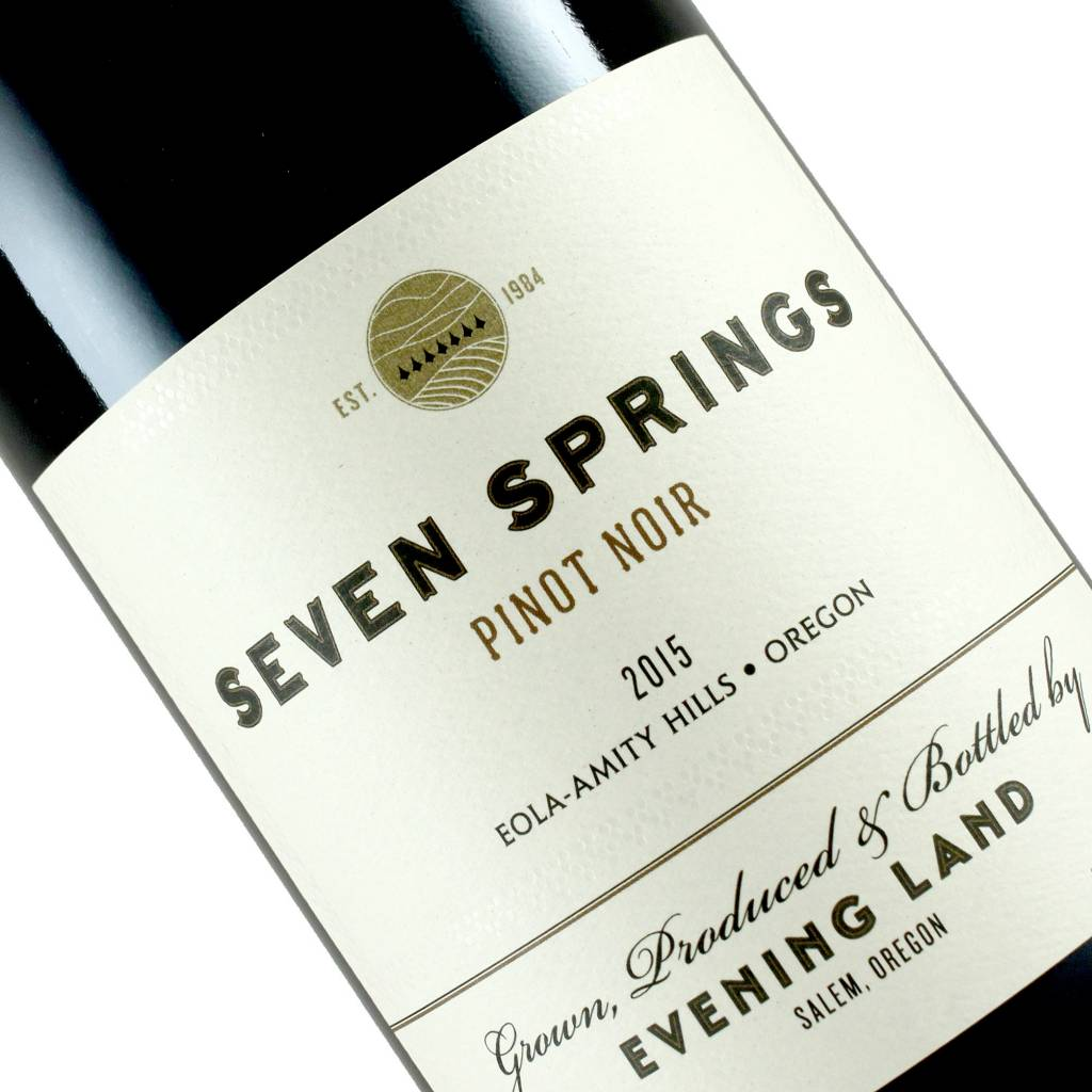 "Evening Land 2015 Pinot Noir"" Seven Springs"" Eola -Amity Hills, Oregon"