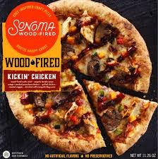 "Sonoma Wood Fired ""Kickin' Chicken"" Craft Pizza, Columbus, Ohio"