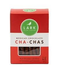 Lark Cha-Chas Mexican Chocolate Cookies