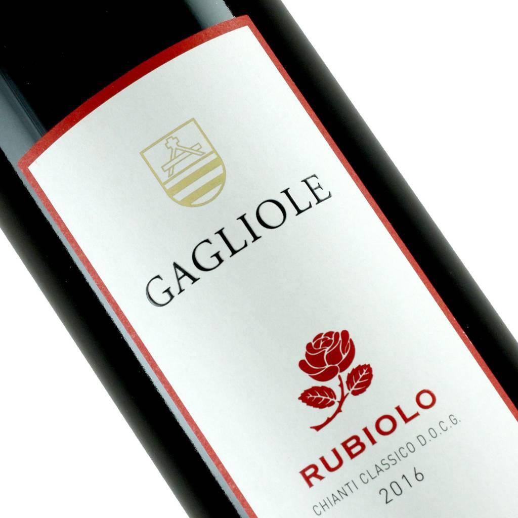 """Gagliole 2016 Chianti Classico """"Rubiolo"""" Tuscany"""