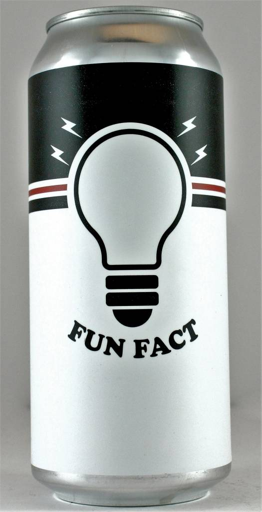 """Chapman Crafted Beer """"Fun Fact"""" India Pale Ale 16oz Can - Orange CA"""