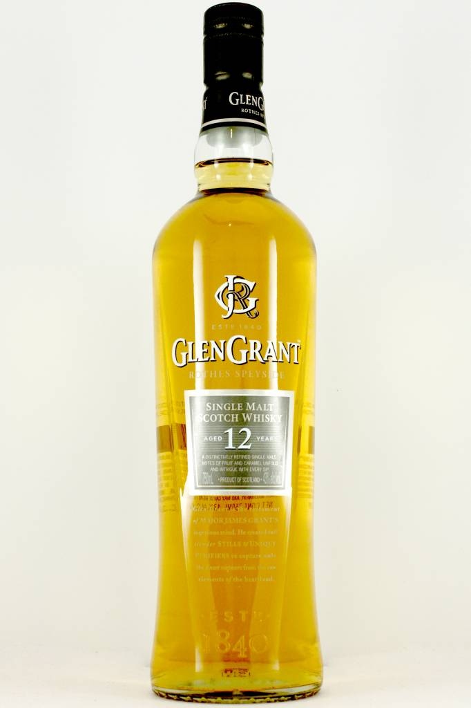 GlenGrant 12 Year Single Malt Scotch Whisky