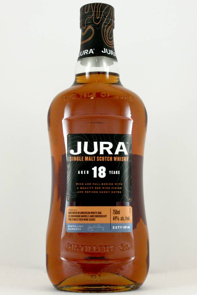 Jura Single Malt Scotch Whisky Aged 18 Years
