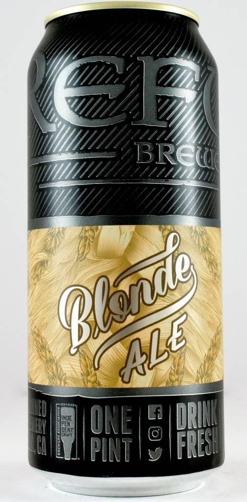 """Refuge """"Blonde Ale"""" Blonde 16oz Can -Temecula CA"""