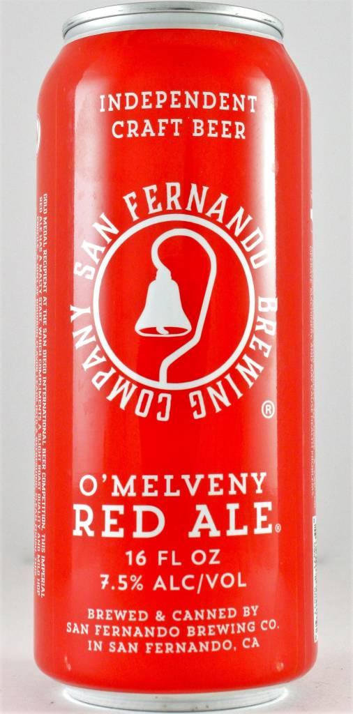 "San Fernando Brewing Co ""O'Melveny Red Ale"" Red Ale 16oz Cans - San Fernando CA"