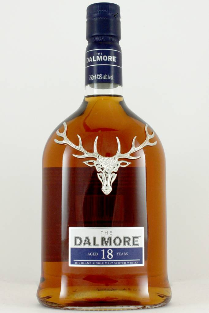 The Dalmore Highland Single Malt Scotch Whisky Aged 18 Years