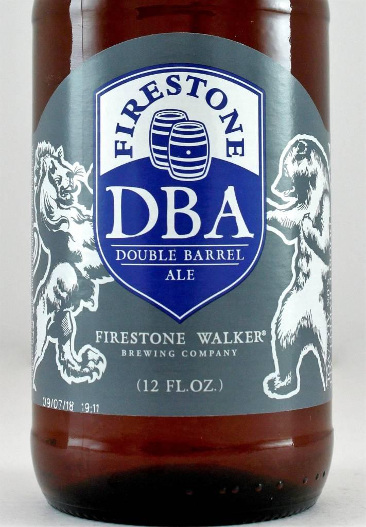 "Firestone Brewing ""DBA"" Double Barrel Ale, California"