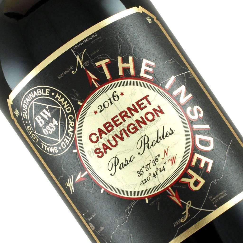 "Vinum 2016 Cabernet Sauvignon ""The Insider"" Paso Robles"