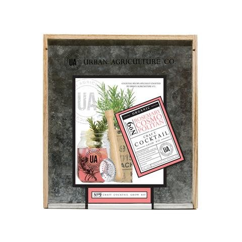 Urban Agriculture Co. No. 9 Rosemary Cosmopolitan Organic Craft Cocktail Grow Kit