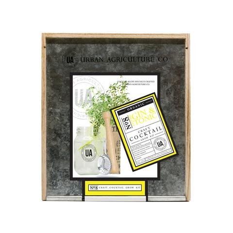 Urban Agriculture Co. No. 8 Gin & Tonic Organic Craft Cocktail Grow Kit