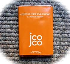 Jcoco Cayenne Veracruz Orange in White Chocolate Mini