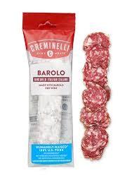 Creminelli Barolo Uncured Italian Salami