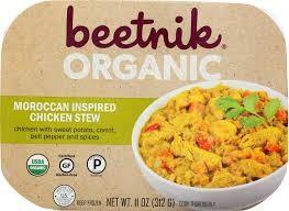 Beetnik Organic Moroccan Inspired Chicken Stew