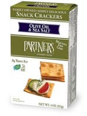 Partners Olive Oil & Sea Salt Artisan Crackers