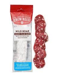 Creminelli Wild Boar Uncured Italian Salami