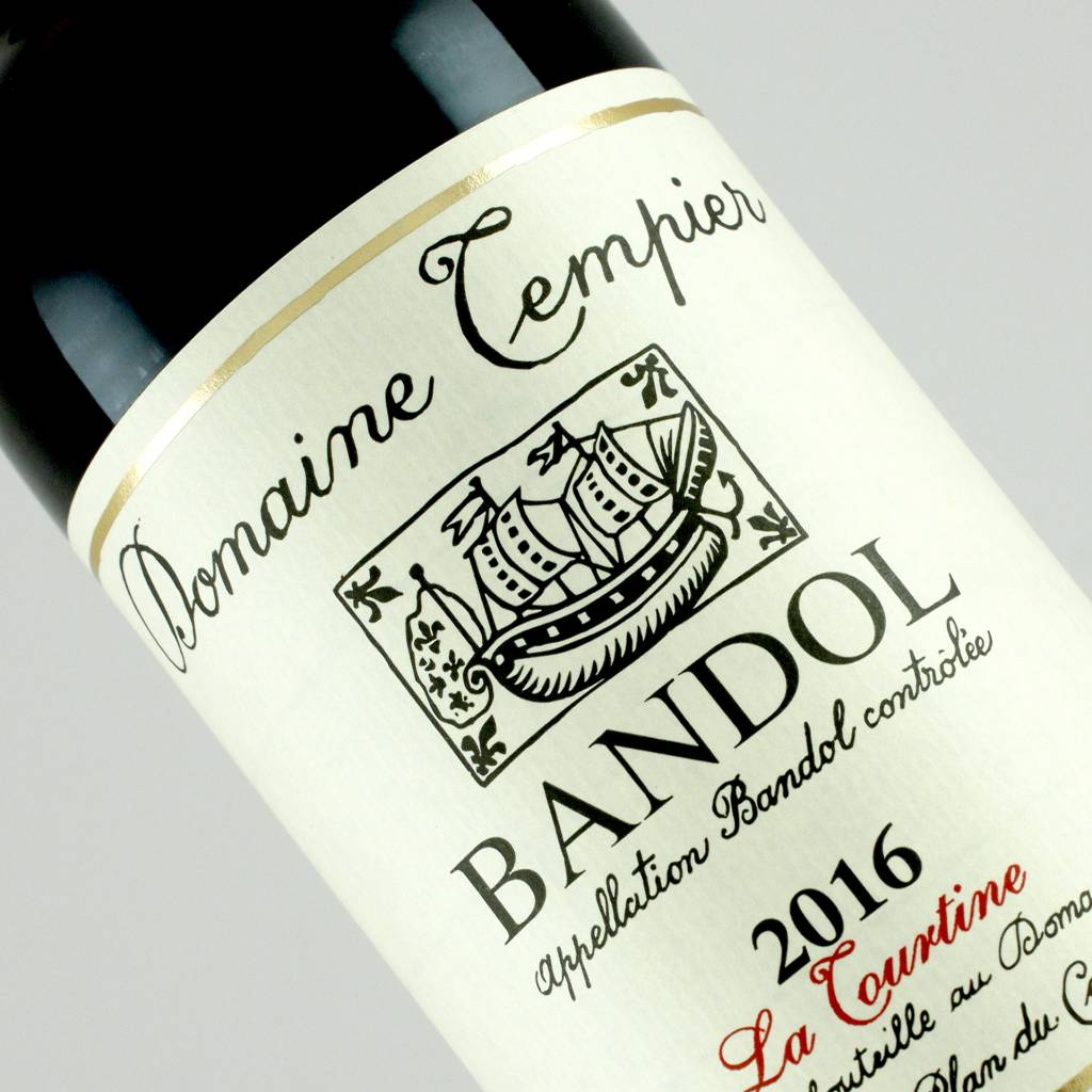 "Domaine Tempier 2016 Bandol ""La Tourtine"" Provence"