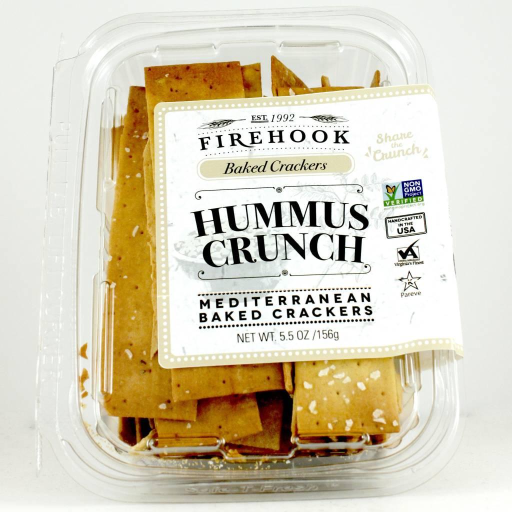 Firehook Hummus Crunch Crackers, 5.5oz