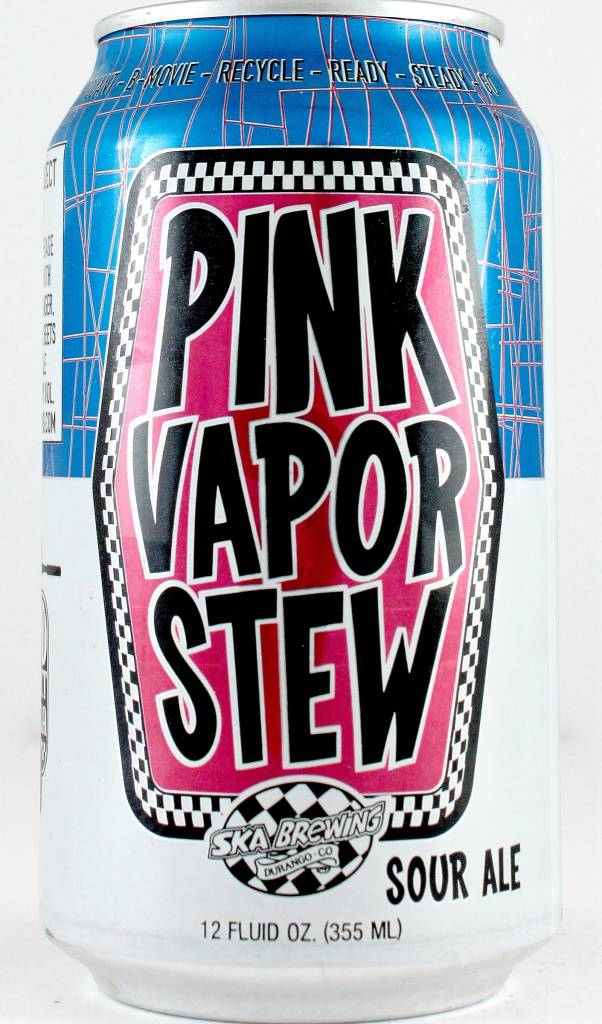 "Ska Brewing ""Pink Vapor Stew"" Sour, California - 12oz can"