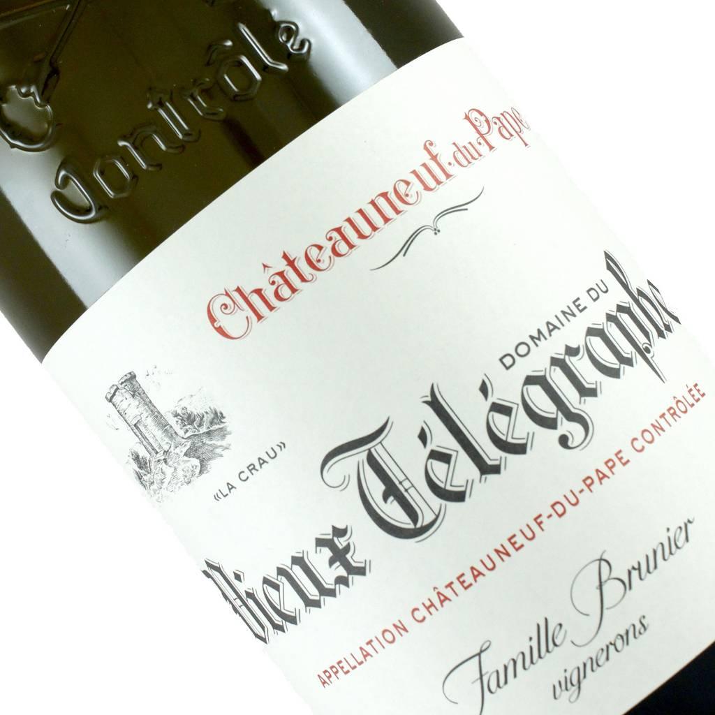 """Domaine du Vieux Telegraphe 2017 Chateauneuf-du-Pape """"La Crau"""" Blanc, Rhone Valley"""