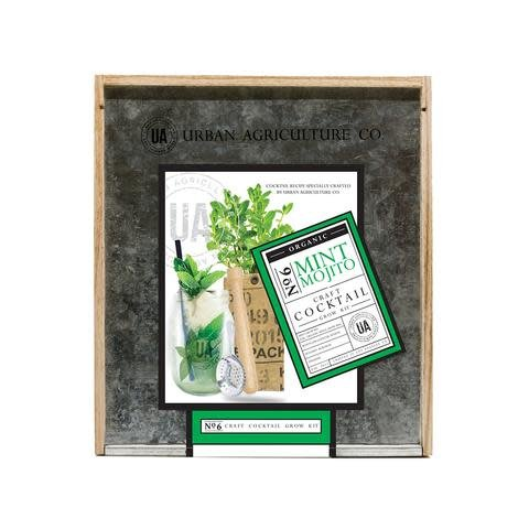 Urban Agriculture Co. No. 6 Mint Mojito Organic Craft Cocktail Grow Kit