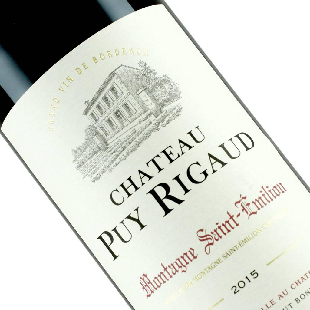 Chateau Puy Rigaud 2015 Montagne Saint-Emilion, Bordeaux