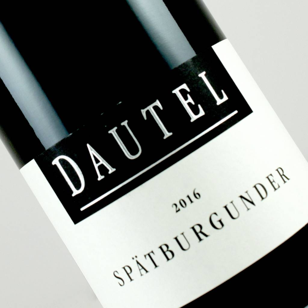 Dautel 2016 Spatburgunder, Wurttemberg Germany