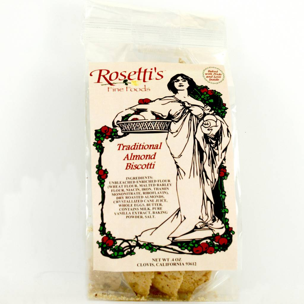 Rosetti's Traditional Almond Biscotti