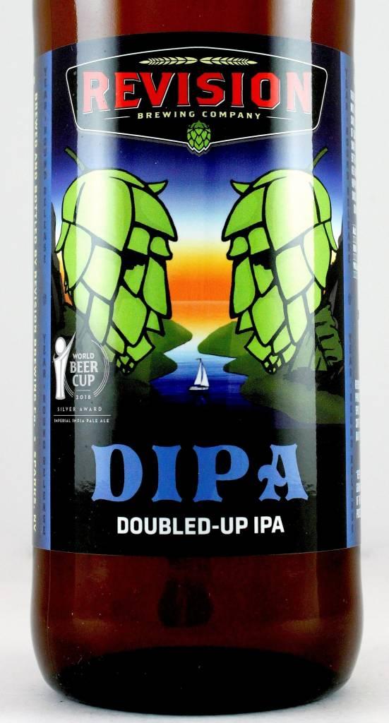 Revision Brewing DIPA Doubled-up IPA, Nevada