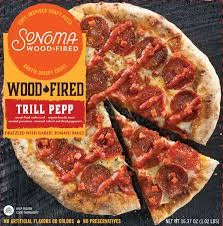 Sonoma Wood Fired Trill Pepp Craft Pizza