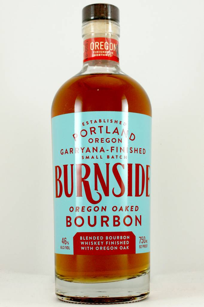 Burnside Small Batch Oregon Oaked Bourbon, Portland