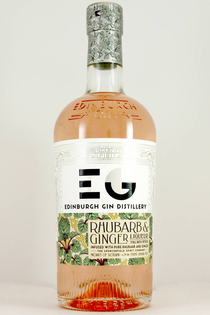Edinburgh Distillery Rhubarb & Ginger Liqueur, Scotland