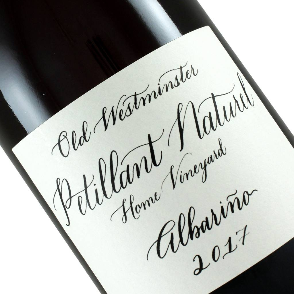 Old Westminster 2017 Albarino Petillant Naturel Sparkling Wine, Maryland