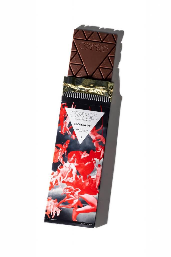 """Compartes """"Scones & Jam"""" Chocolate Bar"""