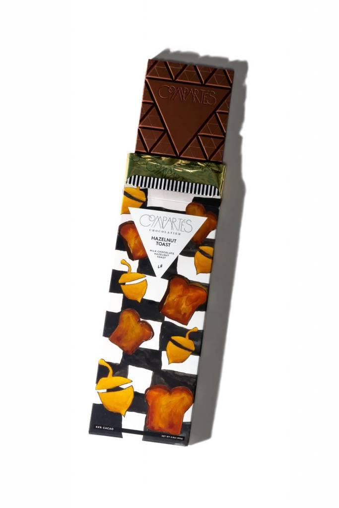"Compartes ""Hazelnut Toast"" Chocolate Bar"