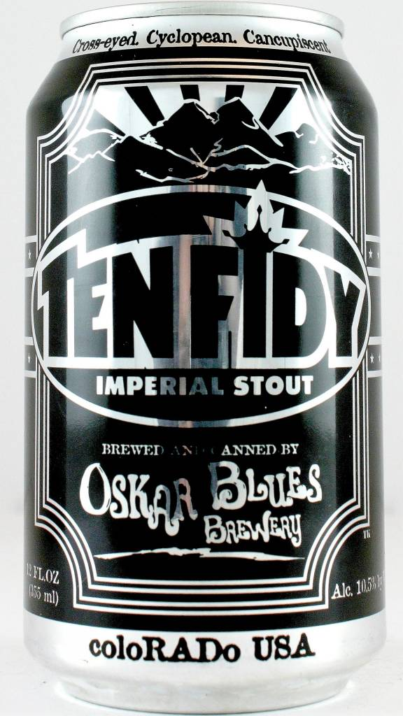 "Oskar Blues ""Ten Fidy"" Imperial Stout 12oz Can - Colorado"
