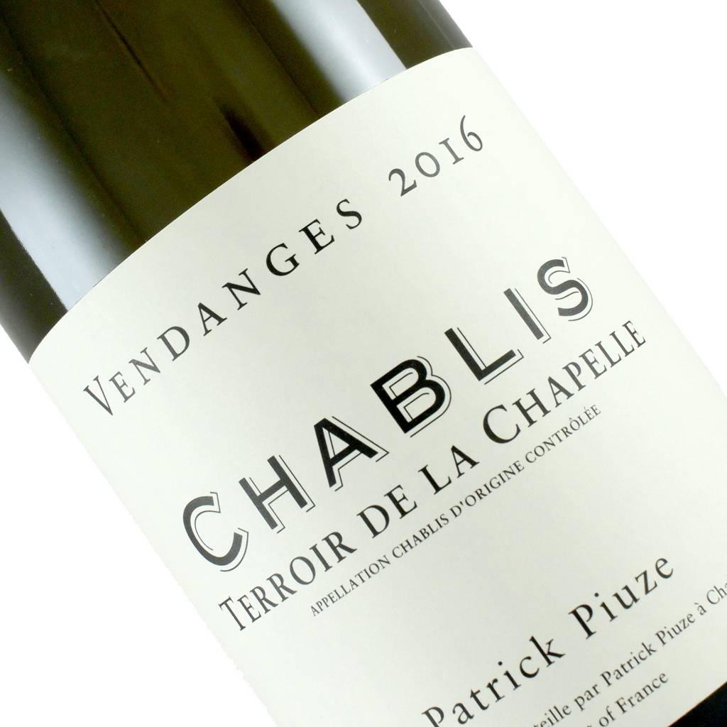 """Patrick Piuze 2016 Chablis """"Terroir De La Chapelle"""", Burgundy"""