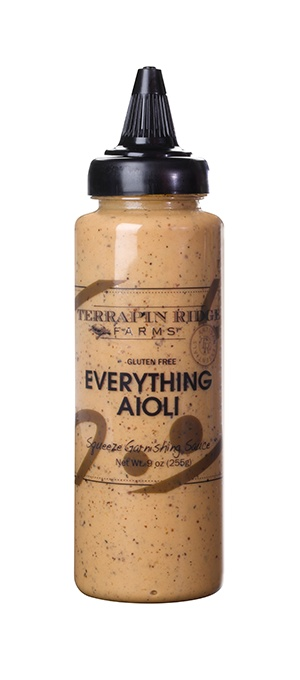 Terrapin Ridge Farms Everything Aioli Squeeze Bottle, Clearwater, Florida