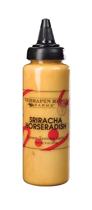 Terrapin Ridge Farms Sriracha Horseradish Squeeze Bottle, Clearwater, Florida