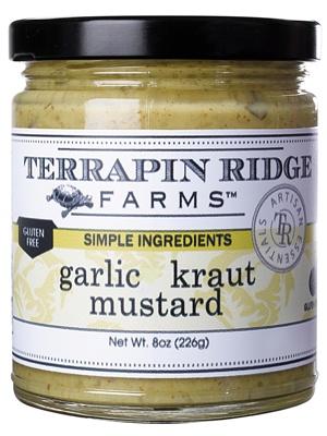 Terrapin Ridge Farms Garlic Kraut Mustard, Clearwater Florida