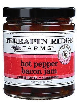 Terrapin Ridge Farms Hot Pepper Bacon Jam, Clearwater Florida, 10.5 oz.
