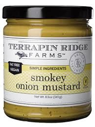 Terrapin Ridge Farms Smokey Onion Mustard, Clearwater, Florida